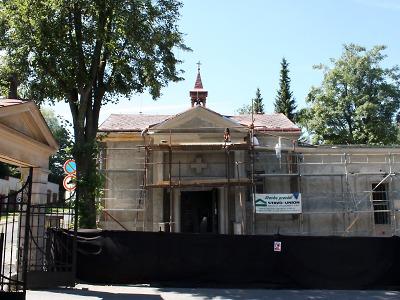 Jablonecká smuteční síň bude po rekonstrukci světlé a důstojné místo