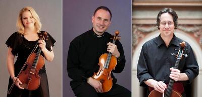 Smyčcové trio hrálo i ve dvou, publikum dokázalo vyladit na jedničku
