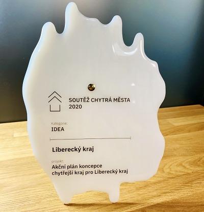 Cena Chytrá města za rok 2020 putuje do Libereckého kraje