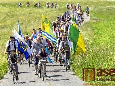 Obrazem: XIV. ročník Spanilé jízdy Cyklostezkou Járy Cimrmana
