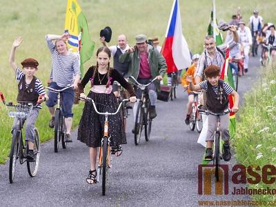 Obrazem: XV. ročník Spanilé jízdy Cyklostezkou Járy Cimrmana