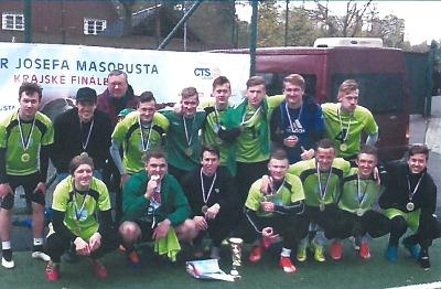 Studenti SPŠT Jablonec pátí na republikovém turnaji ve fotbale