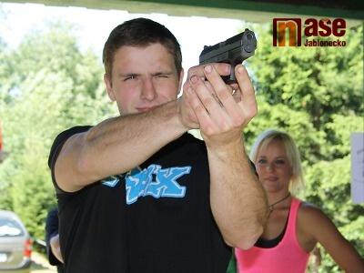 Obrazem: V rámci smržovského Eurionu se střílelo z malorážky i pistole