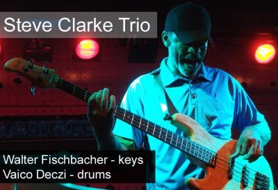 Steve Clarke Trio zahraje fanouškům Na Rampě