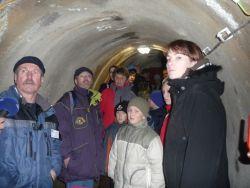 Lidé si prohlédli unikátní štolu pod jabloneckou přehradou