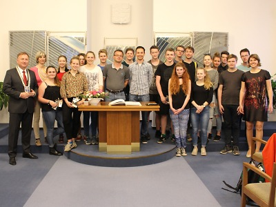 Studenti z Německa se opět podívali do Jablonce