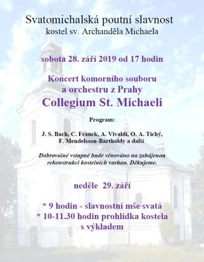 Svatomichalská poutní slavnost se koná ve Smržovce