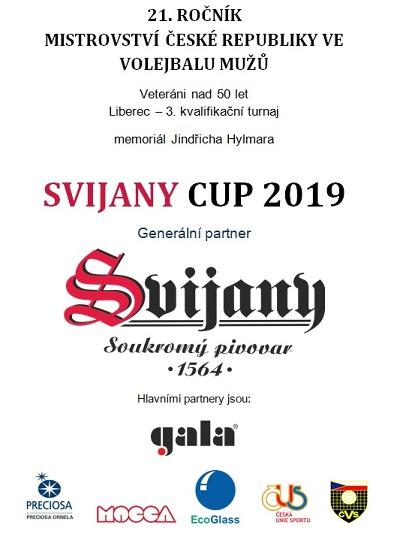 Liberec uvítá volejbalové superveterány na Svijany cupu 2019