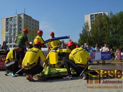 Obrazem: Tanvaldský pohár hasičů 2016