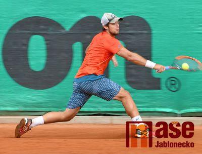 Tenisový turnaj v Jablonci vyhrál Brazilec Bruno Santanna