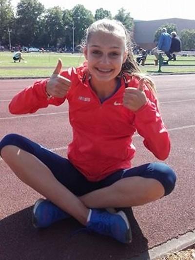 Tereza Vokálová splnila limit na MS do 19 let v atletice