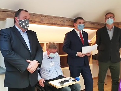 Liberecký kraj představil očkovací strategii, nakažených mírně přibývá