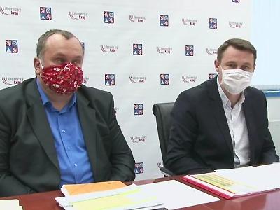 Aktuálně nakažených v Libereckém kraji za týden přibylo o 852 lidí
