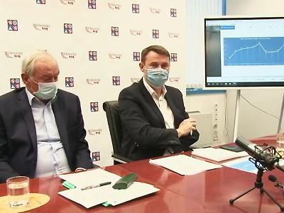 V kraji je 262 pacientů v nemocnicích, klesl přírůstek nakažených!