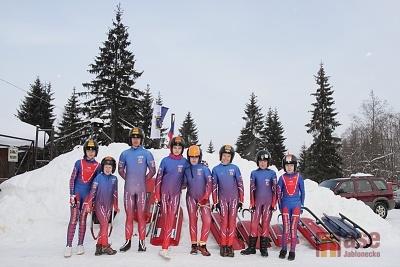 Mistrovství regionu Čechy žactva v jízdě na saních