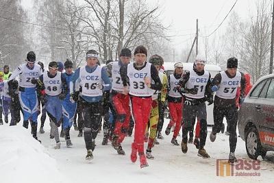 Zimní počasí zimním triatlonistům nevadilo