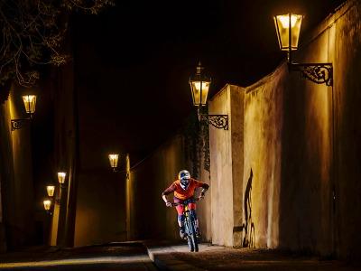Biker Tomáš Slavík hrdinou nevšedního videa z jiného světa