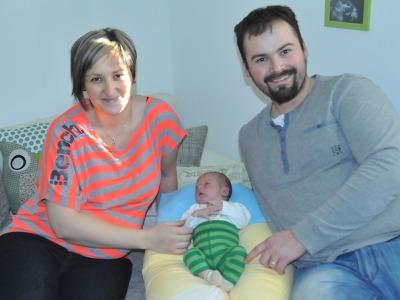 První chlapeček narozený v Libereckém kraji obdržel zlatého kozoroha