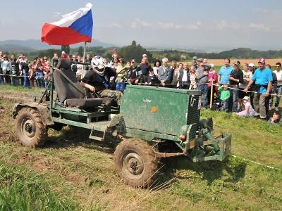 Celkem 45 jezdců změřilo síly na vyskeřské Traktoriádě