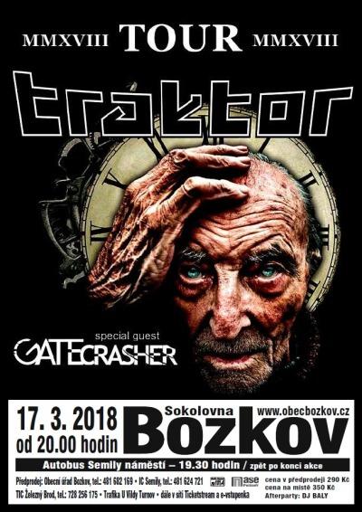 Kapela Traktor při své tour zajede i do bozkovské sokolovny