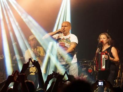 V Bozkově tradičně na podzim zahrála kapela Tři sestry