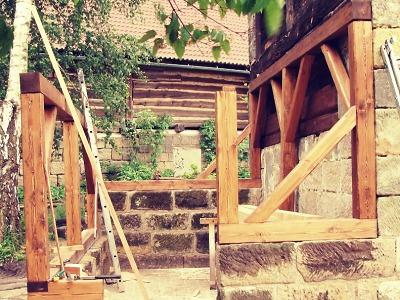 Mistr tesař ctí ducha historie i při stavbě nových domů