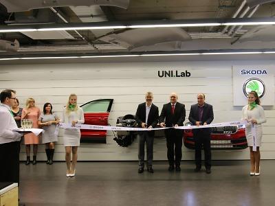 Fakulta strojní TUL a Škoda Auto otevřely univerzitní laboratoř