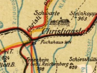 Pomozte studentům se studiem starých turistických map Jizerských hor