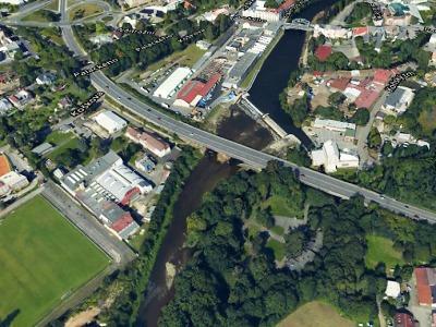 V Turnově začala oprava mostu přes Jizeru