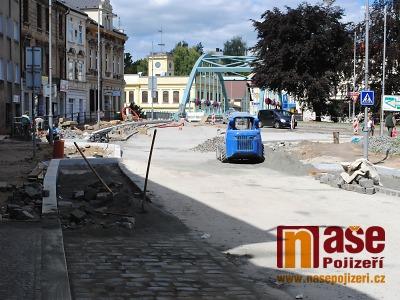 Palackého ulice v Turnově bude neprůjezdná až do konce prázdnin