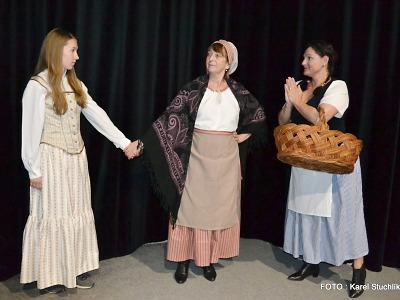 Tylova Tvrdohlavá žena vstoupí na jeviště v Josefově Dole