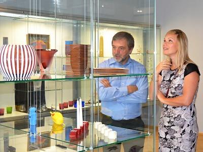 Sklářská škola v Železném Brodě dokončila úpravy výstavních prostor