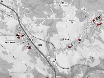 Od 18. ledna začalo platit dopravní omezení v úseku Rádlo - Jeřmanice