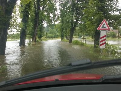 Hladiny řek v Libereckém kraji začaly stoupat
