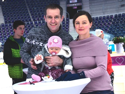 Liberecká Aréna se na svatého Valentýna rozzářila do růžova