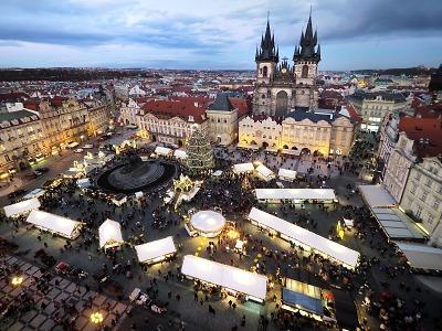 Praha se umístila ve světových žebříčcích o nejkrásnější Vánoční trhy