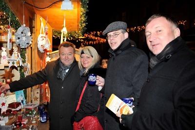 Představitelé Jablonce navštívili vánoční trh i svatbu v Kaufbeuren