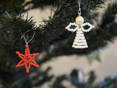 V jabloneckém muzeu si můžete vytvořit vánoční zvoneček i jiné ozdoby