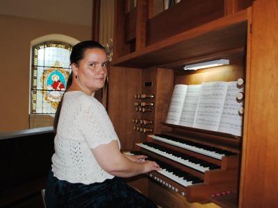 Jana Havlíčková rozezněla varhany v kostele sv. Anny