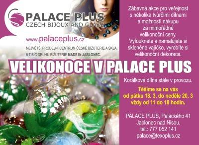 Dílničky a zábavu s výrobou ozdob přinesou Velikonoce v Palace Plus