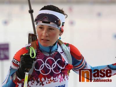 Veronika Vítková potřetí třetí