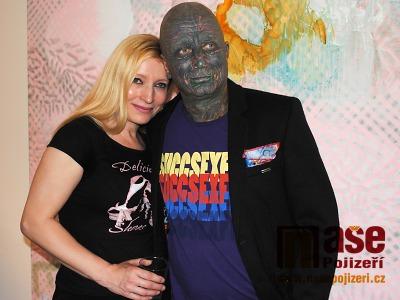 Ida Saudková a Vladimír Franz uvedli v Semilech svou výstavu