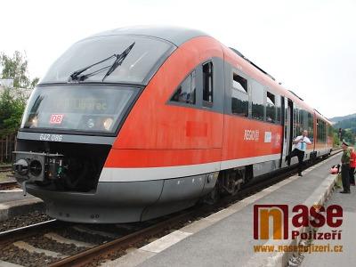 Obrazem: Vlak Siemens Desiro projížděl Libereckým krajem
