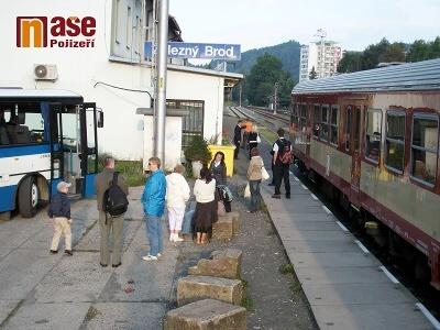 Na konci března dojde k výlukám na trati Železný Brod - Tanvald