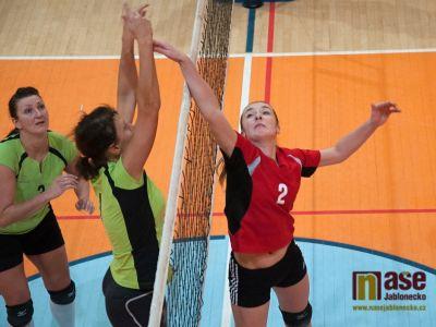 Volejbalové juniorky bojují na dvou frontách