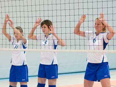 Ve volejbalovém přeboru žen jde Jablonex do čela, ale má více zápasů