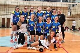Volejbalistky dvakrát zvítězily na hřišti Sokola Dobřichovice