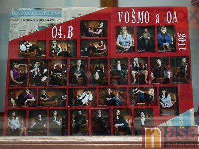 ANKETA o nejvydařenější maturitní tablo - VOŠMO a OA 04.B