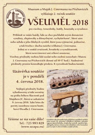 Koumáci a vynálezci se mohou účastnit soutěže Všeuměl 2018