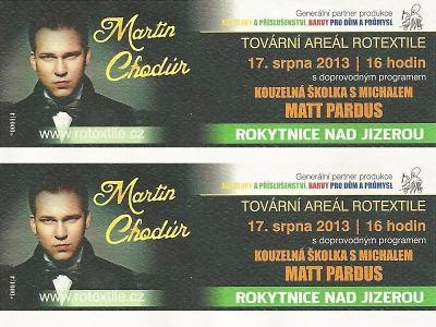 Patnáct výherců získalo 30 vstupenek na koncert Martina Chodúra